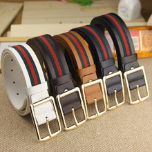 Handmade Band low price unique western belts 110cm cheap belts leather belts