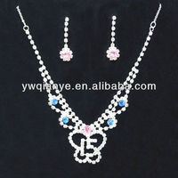 Cute Couple Necklace Pendant Sets