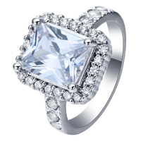 large zircon engagement rings jewelry for women jewellery