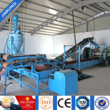 tire recycling machinery/process reclaim rubber from used tires/rubber mat vulcanizing press