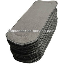 New bamboo charcoal cloth diaper insert