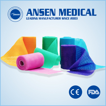 Orthopedic Casting Tape For Fracture Treatment Medical Orthopedic Fiberglass Casting Tape