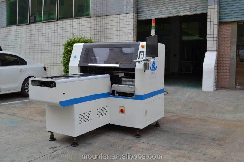 hot sale smt pick and place machine,pcb assembly machine,stencil printer-pick and place machine-conveyor-reflow oven