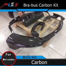 Bra-bus Style Carbon Fiber Bodykit for Mercedes Benz S Class W222 S63