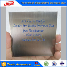 Mirror Lamina Hairline Special Stainless Steel
