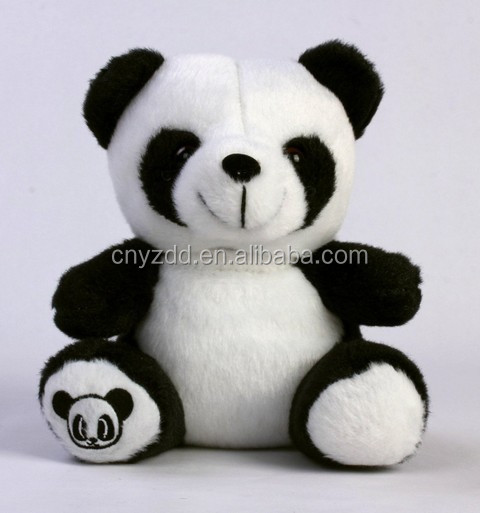 iPlush Plush Toy Cell Phone Case/ Plush Panda Case For Cell phone
