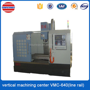 VMC-640 (line rail) machining center for processing module