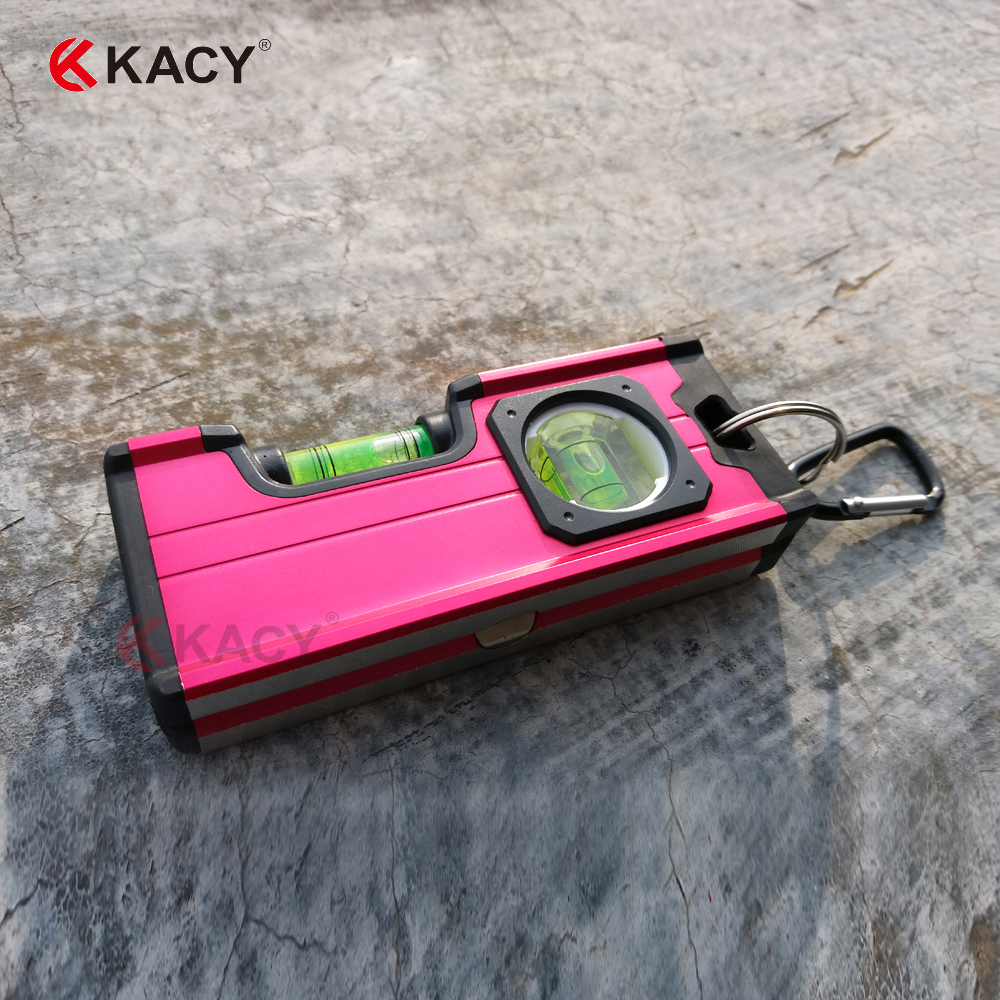KACY Electric plating horizontal and vertical bubble spirit level with magnetic