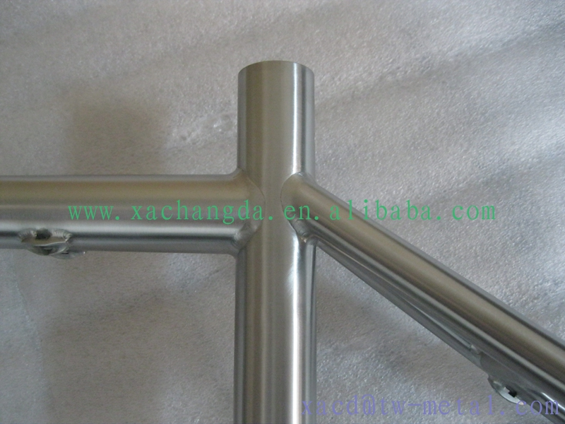 titanium mtb bike frame custom titaiunm bike frame durable mtb bike frame