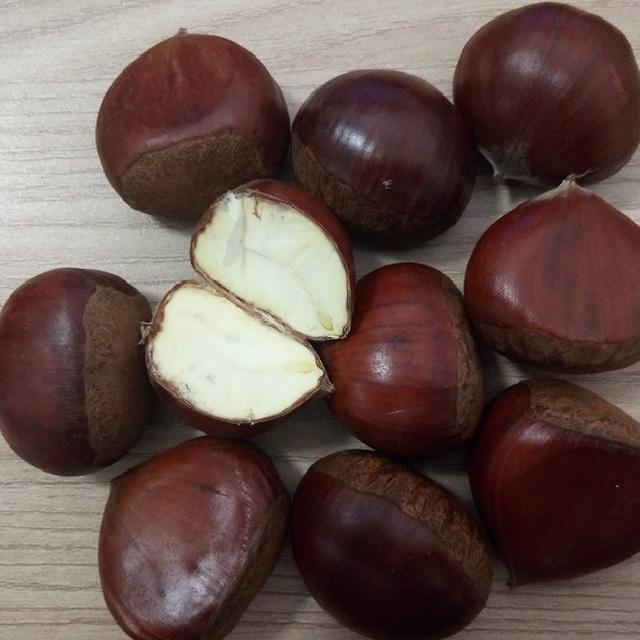 2017 Chinese big size whole round fresh chestnut