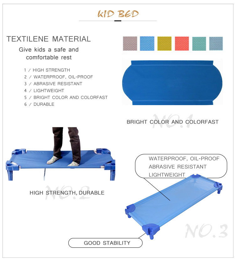 China manufacture high quality kindergarten it can move baby cot