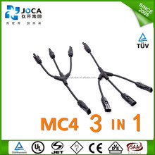 High quality mc3 mc4 solar pv connector plug cable TUV CE approved,UV resistance,Waterproof solar panel