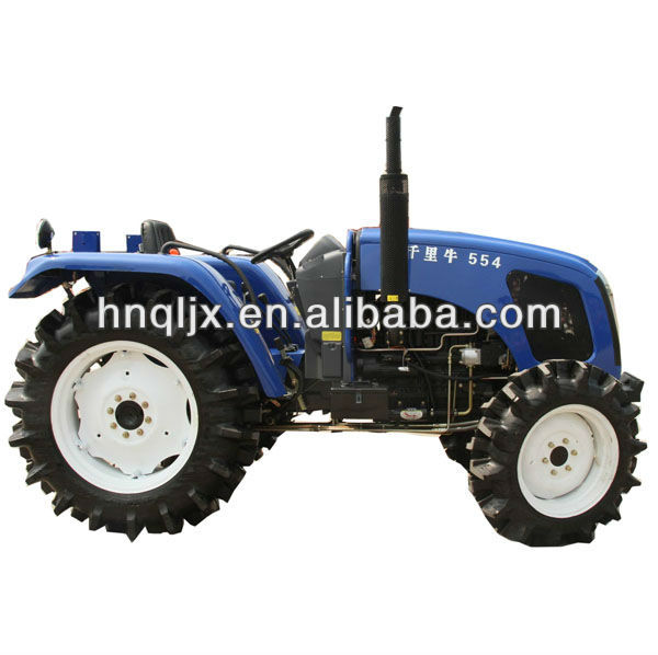 QIANLI QLN-554 agriculture mini tractor for sale,55hp 4wd