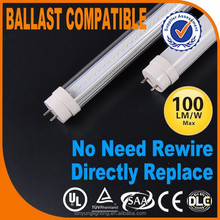 China Ballast compatible Patent 8w 60cm t8 led red tube UL DLC CSA approved