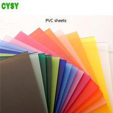 Pvc Sheets For Waterproofing Package , Pvc Soft Transparent Sheets For Food Package