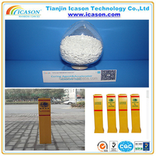 Road signs pile Polyester /TGIC systerm powder coating Curing Agent Triglycidyl Isocyanurate (TGIC)