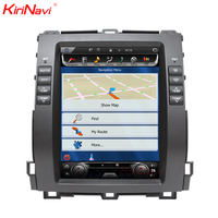 "KiriNavi Vertical Screen Tesla Style android 6.0 10.4"" for toyota land cruiser prado dashboard 4G touch screen"