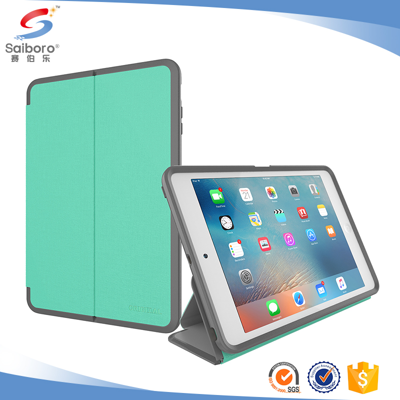 Stand Leather Case Uv Printing Phone Case for ipad pro