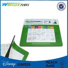 Promotion mouse rubber mouse pad / photo insert mouse pad promotional