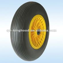 Solid polyurethane tire,Pu foam wheel 4.00-8
