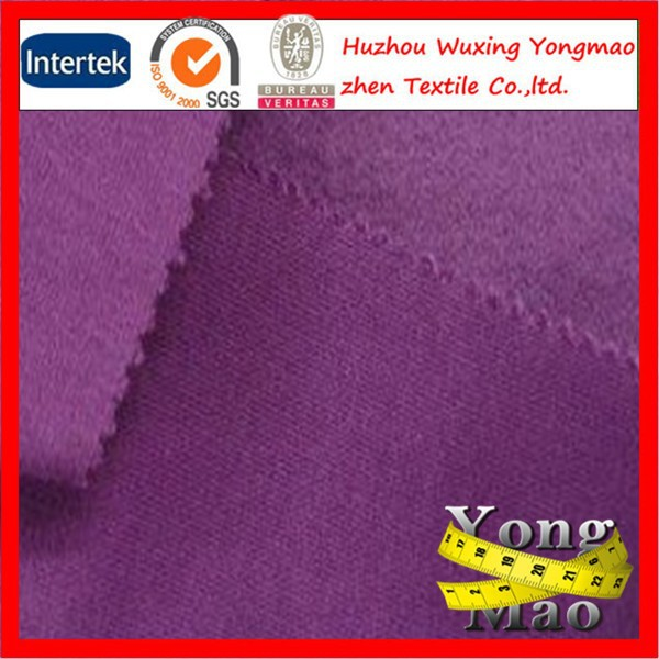 colorful french terry fleece 65 cotton 35 polyester fabric