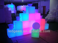 NEW!!! 2013 Fancy Cheap Space Saving Home Furniture LED with 16 Color Changing, Light up Your Fashion!