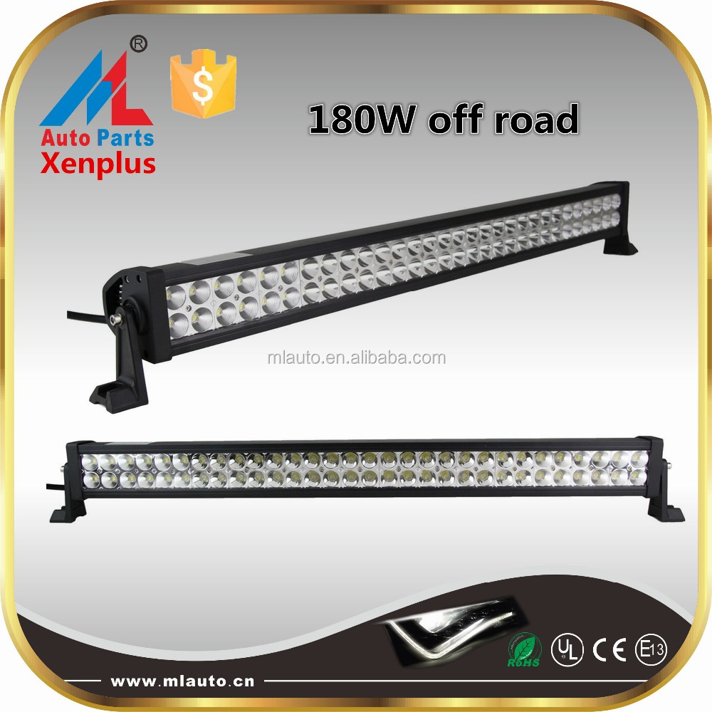 OFFROAD crossover led light bar 180w aluminum profile LED light bars for truck UTV 4WD SUV off road 4x4