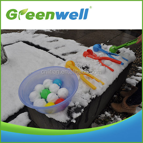 ABS snowball maker for kids,plastic snowball maker toys,37cm kids snowball makers