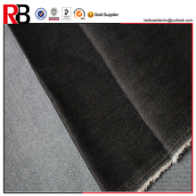 100%cotton black color 10oz combed twill denim fabric jeans fabric