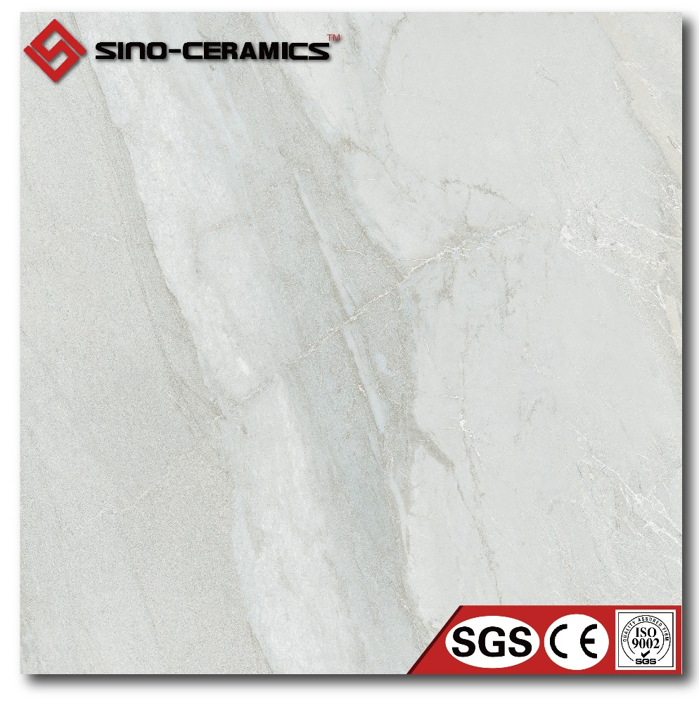 Hotel Light grey marble finish tile 60x60 marble look tile