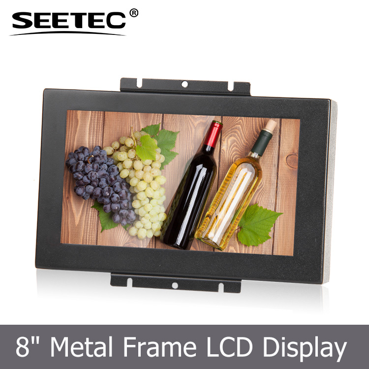Touch panel 8 inch open frame screen hdmi vga input dental chair lcd monitor