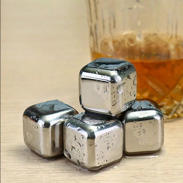 Ice Cube stainless steel whisky stones Stainless Steel Chiller Stone
