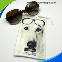 Microfiber Sunglasses Pouch With Drawstring