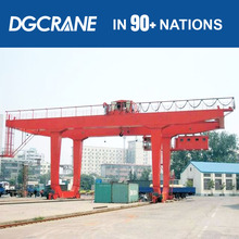 Hot Sale 3 Ton~32 Ton Electric Hoist Lifting Single Beam Quayside Container Gantry Crane Supplier With Carry Beam