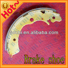 China best saling high performance semi metal ceramic tractor brake shoes