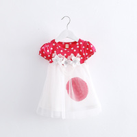 Baby Girl Summer Designer One Piece Party Dress Baby Dress Fashion