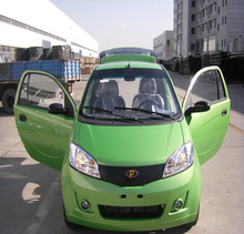 Electric car 2 seat EEC approved L7E 96V 10KW 90KM COC