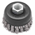 Knot Wire Cup Brush - Stainless Stee M14 for Grinders in china manufacture