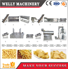 potato chips machine price/ potato chips plant cost/ french fries making machine