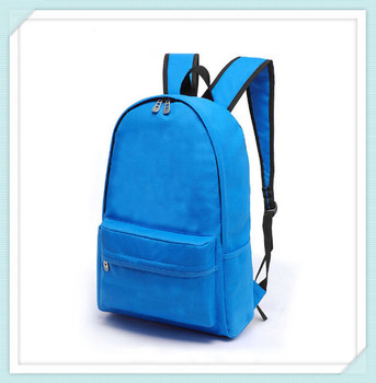 polyester custom-made multicolor school backpack