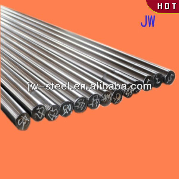 Hollow piston rod for automobile shock absorber