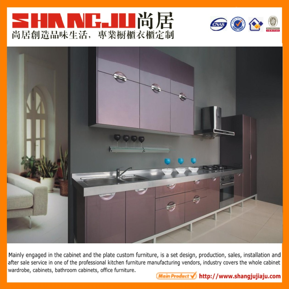 Kitchen cabinet with MDF customized design