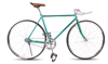New 700C Single Speed Colourful alloy Rim ball horn handlbar Fixed Gear Road Bike Bicycle