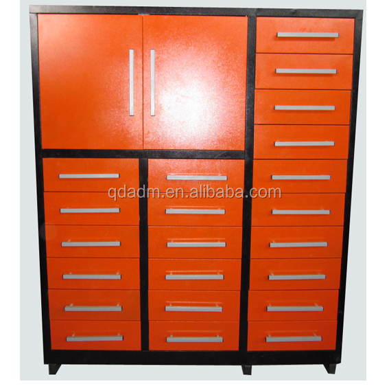Steel Filing Drawer Box Cabinet with Doors
