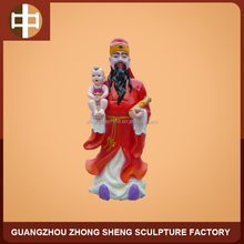 resin the god of wealth statue for outdoor decoration