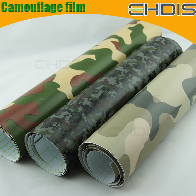 car upholstery fabric camouflage wholesale car full body vinyl sticker camouflage wrap camo film