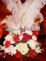 Ostrich Feather Centerpieces Floral Arrangements