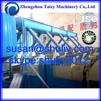 Wood waste recycling sawdust briquette charcoal making machine