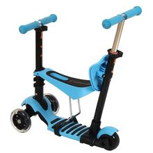 Factory Sale High End Soft Seat Kids Favorite Children Scooter Big Wheel