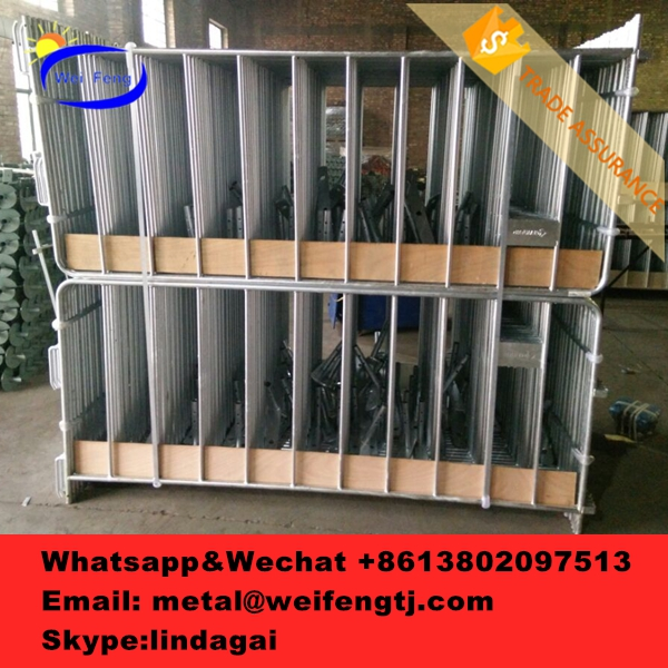 2017 New movable metal barrier with good price